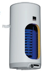 Бойлер вертикальный навесной комбинированный Drazice OKC 125 л.