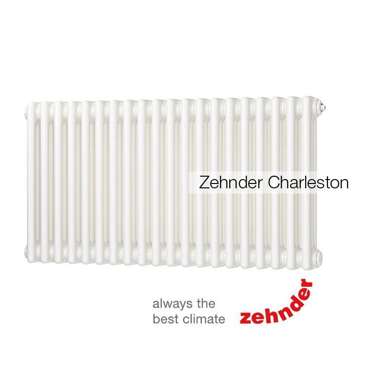 Радиатор Zehnder Charleston 3057 / 30 секций, нижнее подключение со встроенным термовентилем