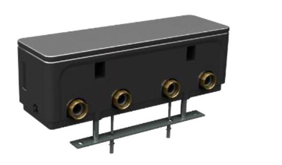 Комплект гребенка HKV 2/25/25 и г/стрелка WHY DN25 (WMS2 в компл.) 8718599383