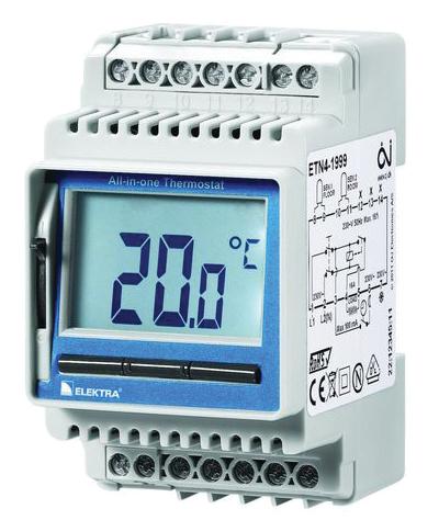 Термостат с датчиком температуры пола OJ Electronics ETN4 1999
