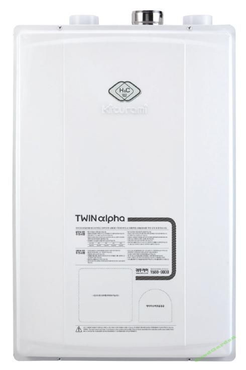 Газовый котел Kiturami Twin Alpha-16 (18 кВт)