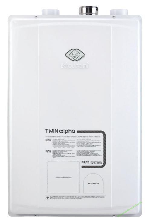 Газовый котел Kiturami Twin Alpha-20 (23 кВт)