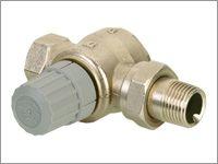 Клапан RTD-G для однотрубной системы отопления 25 мм прямой