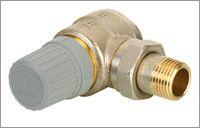 Клапан RTD-G для однотрубной системы отопления 20 мм угловой