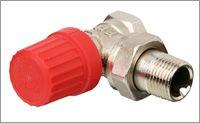 Клапан RTD-N для двухтрубной системы отопления 25 мм угловой